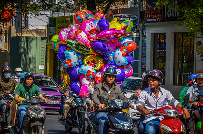 Preparing for Celebration - Saigon, Vietnam