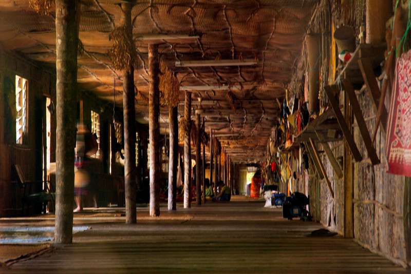 Long Longhouse -  Borneo