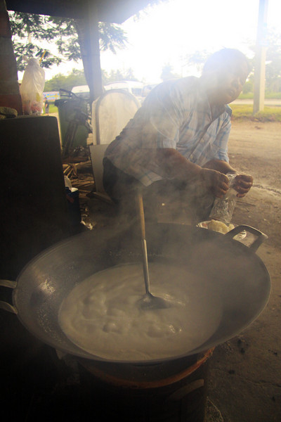 Cooking Coconut  - Thailand