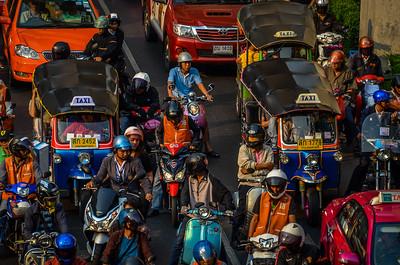 Bangkok, Thailand - Rush Hour