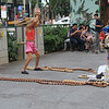 Street entertainer