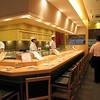 A nice restaurnt in Tokyo for dinner.