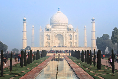 Taj Mahal Agra, India December 2009