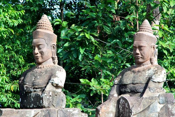 Angkor Thom Gate, Cambodia