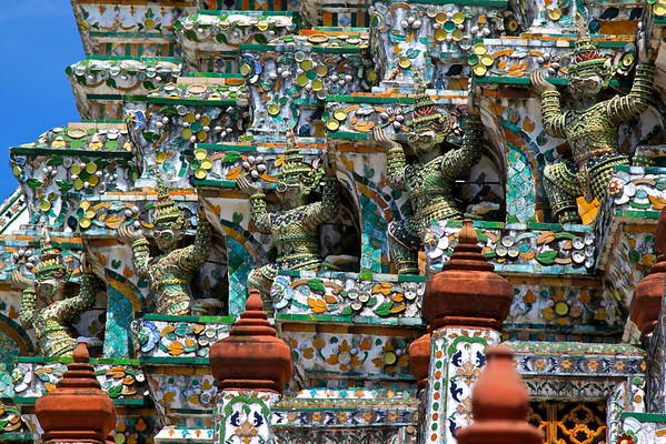 Wat Arun Bangkok, Thailand July 2011