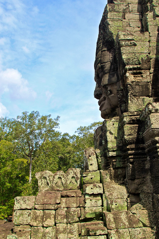 Bayon Siem Reap, Cambodia July 2011