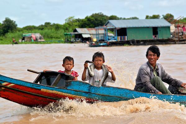 Chong Kneas, Cambodia July 2011