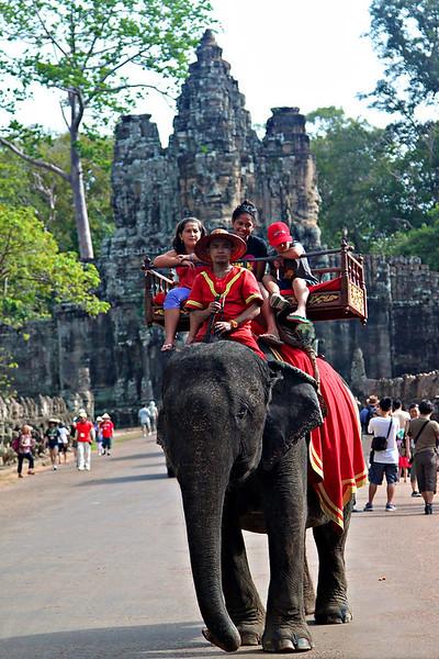 Angkor Thom Gate