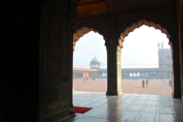 Jami Masjid Delhi, India December 2009