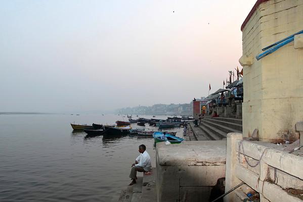 Sunrise on the Ganges Varanasi, December 2009