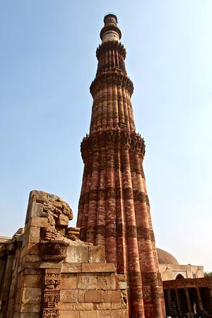 Qutub Minar Delhi, India December 2009