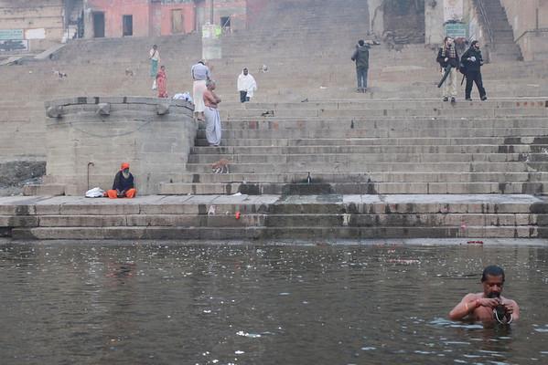 Ganges morning Varanasi, India December, 2009