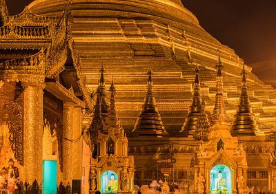 Gilded Shwedagon Paya