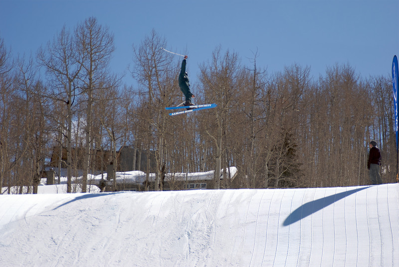 Richard and I were just fooling around one afternoon on the terrain park!