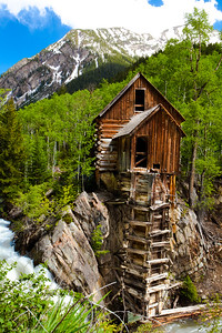 Crystal Mill, Crystal City CO