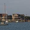 Ocracoke, NC... Early morning harbor scene.