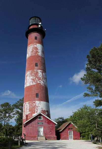 Assateague Lighthouse, Assateague Island, Virginia.