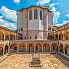 Courtyard at Basilica of St. Francis