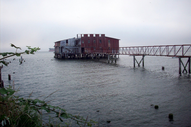 """The battle to save """"Big Red"""" is a long one.  There are so few structures left that mark Astoria's fishing heritage."""