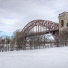 """Hell Gate Bridge"" after the snow storm Nemo."