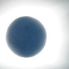 The moon - (its surface illuminated by reflected light from the earth) surounded by the solar corona