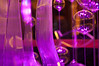 Main lobby glass art detail