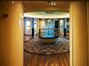 Main lobby glass art
