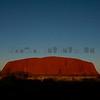 Uluru at the Sunset