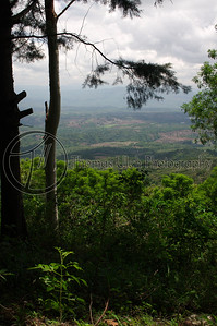 This is the view from the backside of Villa Mercedes. When we walked back here, we inadvertently interrupted two young lovers. They were technically trespassing, but young love knows no bounds! Concepcion de Ataco, Ahuachapan, El Salvador.