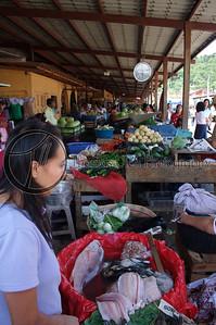This is the seafood section of the Mercado de Ataco. Concepcion de Ataco, Ahuachapan, El Salvador.