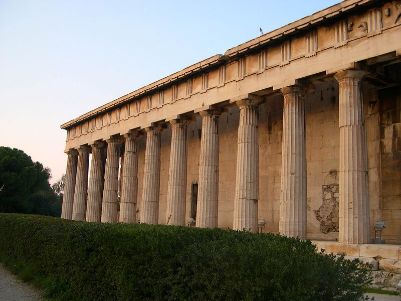 Stoa of Attalos.  It is now a museum for finds from the Agora.