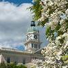 Athens City Hall on a stunning Spring Day