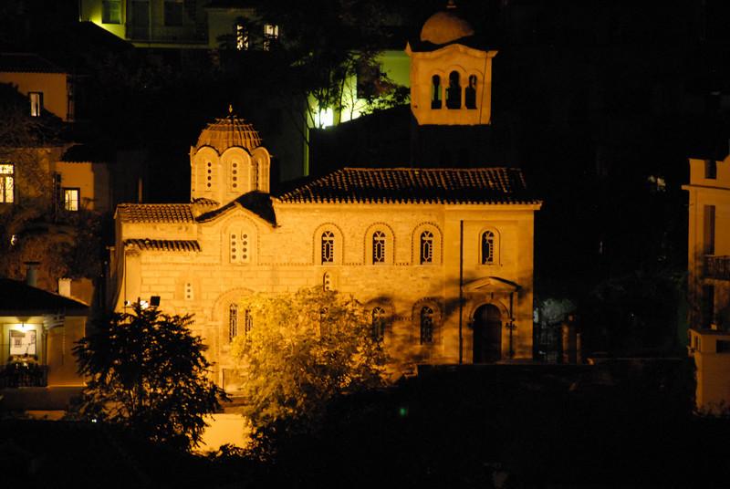 Athens - Church @ Night_0417