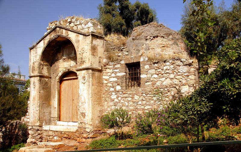 Athens - Plaka Old Church_0694