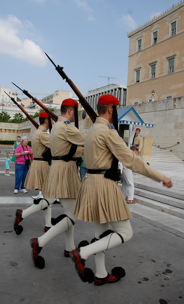 Athens - The Changing of the Guard_0221