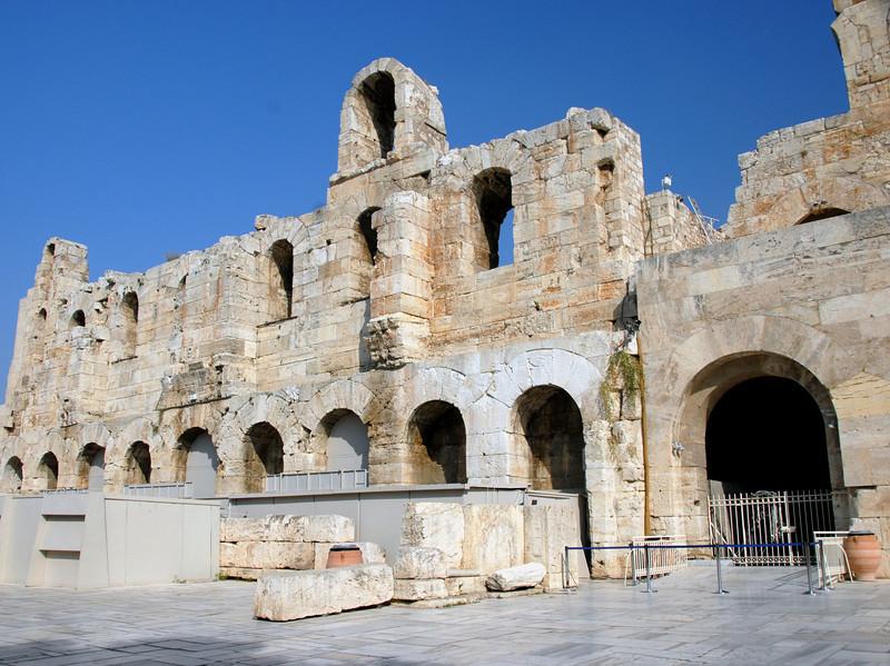 Athens - Acropolis - Theater Entrance_0493