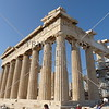 Parthenon Temple on the Acropolis of Athens, Greece.