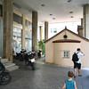 A Modern Building was Built right above a Tiny Church, Athena, Greece