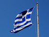 Greek Flag over the Acropolis