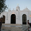 Church of Saint George sits on top of Mount Lycabettus, Athens, Greece