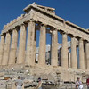 The Parthenon Temple in the Acropolis in Athens, Greece.