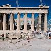 Parthenon ruins