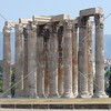 Temple of Zeus in Athens, Greece.