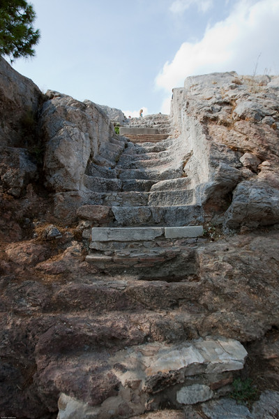 4M9F4906-1 Steps leading up Areopagus Hill.