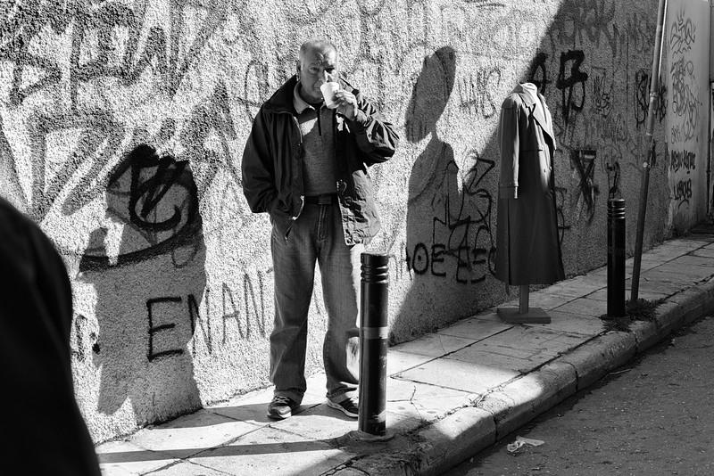 Shadows, Athens, Greece