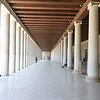 The Stoa of Attalos, Athens, Greece<br /> <br /> The Stoa of Attalos was a stoa (covered walkway or portico) in the Agora of Athens, Greece. It was built by and named after King Attalos II of Pergamon, who ruled between 159 BC and 138 BC.<br /> <br /> The stoa was in frequent use until it was destroyed by the Heruli in 267. The ruins became part of a fortification wall, which made it easily seen in modern times. In the 1950s, the Stoa of Attalos was fully reconstructed and made into the Ancient Agora Museum, by the American School of Classical Studies at Athens, with funding donated by the Rockefeller family.