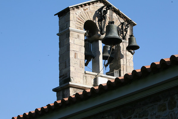 Church Bells, Saint Fotini Orthodox Church<br /> Athens, Greece