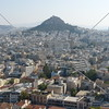 An overlook view of Athens, Greece.