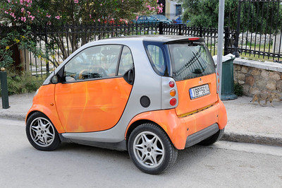 This is called a smart car in Europe