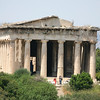 The Temple of Hephaestus, Athens, Greece <br /> <br /> Also known as the Hephaisteion or earlier as the Theseion, is a well-preserved Greek temple; it remains standing largely as built. It is a Doric peripteral temple, and is located at the north-west side of the Agora of Athens, on top of the Agoraios Kolonos hill. From the 7th century until 1834, it served as the Greek Orthodox church of St. George Akamates.